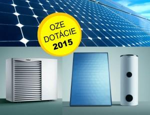Dotácie na obnoviteľné zdroje energie