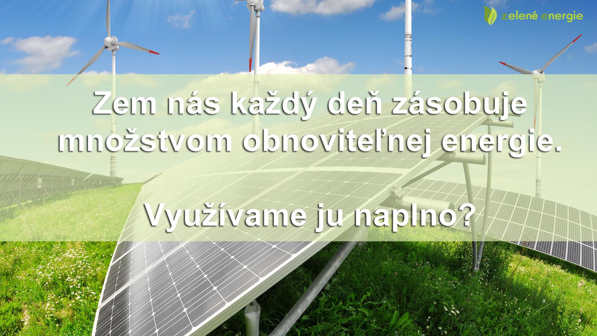 Zelené energie